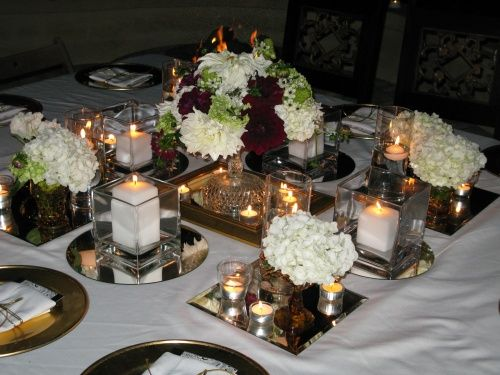 wedding party table decoration ideas party table