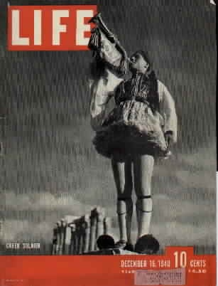 """Life"", December 1940 (Greece enters WW2)"