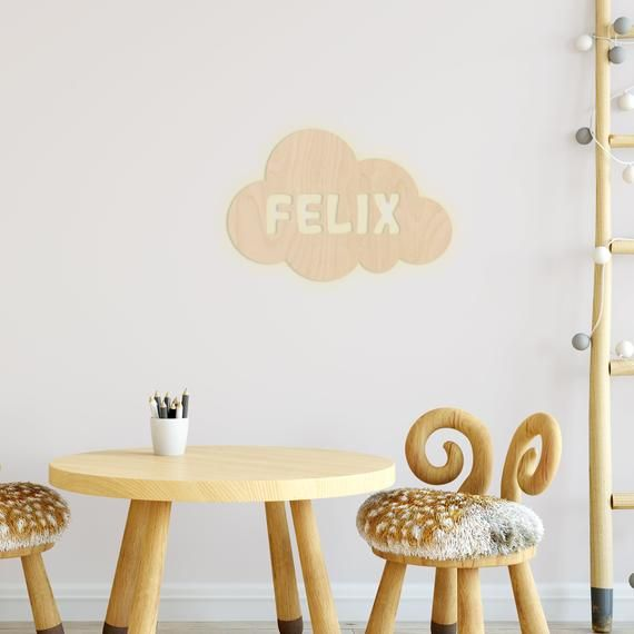 Wall Lamp Cloud Nursery Personalized Lamp With Name Night Light Light Wall Lamp Decoration Boys Girl Baby Snooze Light Wall Lamp Lamp Decor Night Light