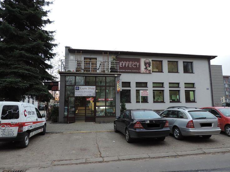 Budynek, w którym znajduje się nasz sklepik Kapelanka 13c Kraków