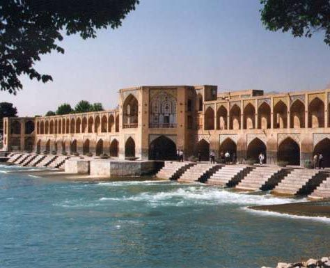 Esfahan, Persia's old capital, is by far the most beautiful city in Iran.