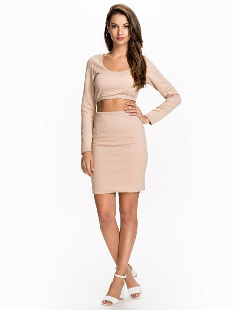 Structure Base Set - Nly One - Beige - Party Dresses - Clothing - Women - Nelly.com
