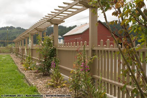 Awesome Fence Idea