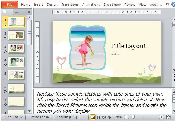 50 best microsoft powerpoint templates images by freeoffice new photo album powerpoint templates consists unique layouts designed by the professional designers that help you toneelgroepblik Gallery