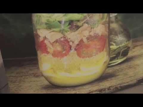 Salad in a Jar - YP