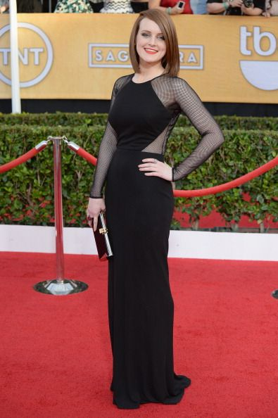 Sophie McShera in David Meister - 2014 SAG Awards