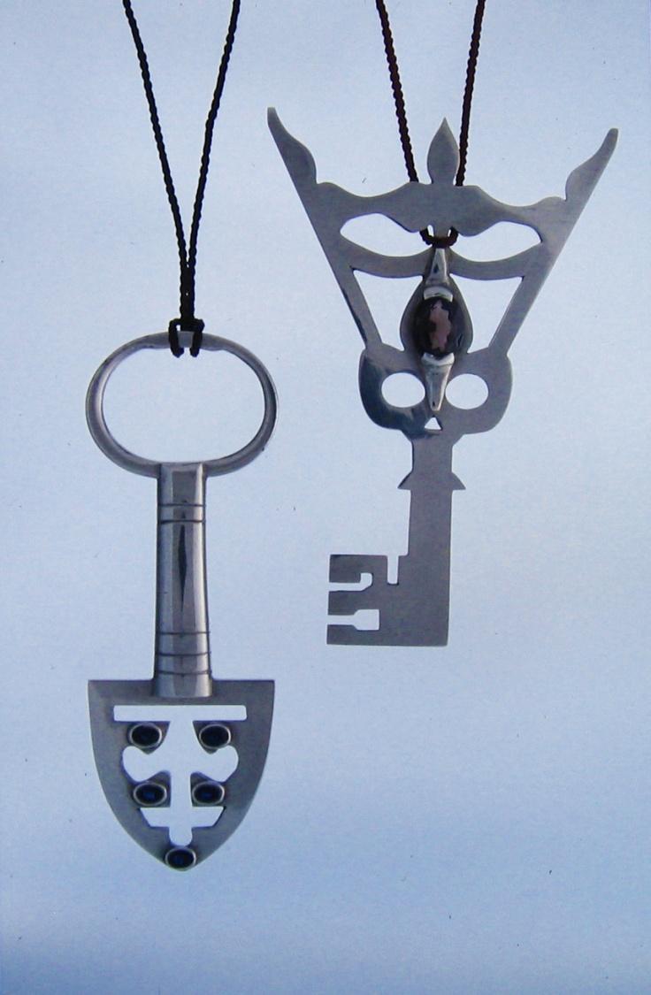 21st birthday keys (left: Cameron, 1996 and right: Tony, 1993)