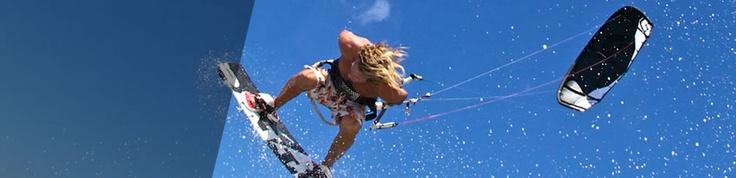 Felix riding high on Switch Kites Nitro 2  #kitesurfing #kiteboarding #kite