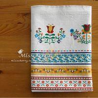 С этническом стиле, толщиной льняная ткань полосатые цветы ткани