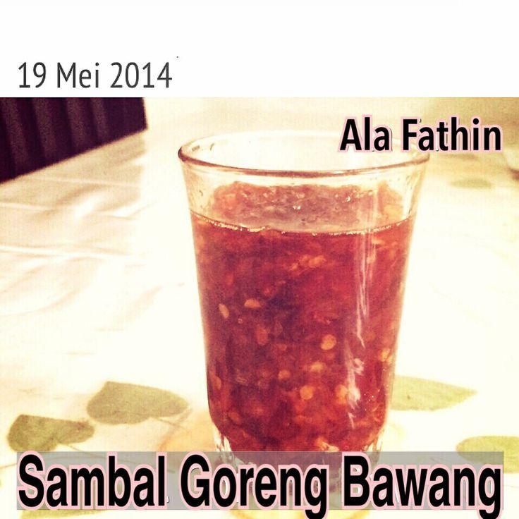 Sambal Bawang Ala Fathin
