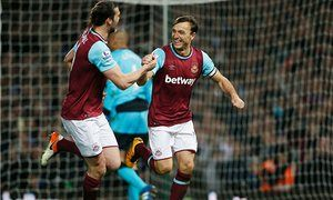 Andy Carroll and Mark Noble fire West Ham to victory against Watford