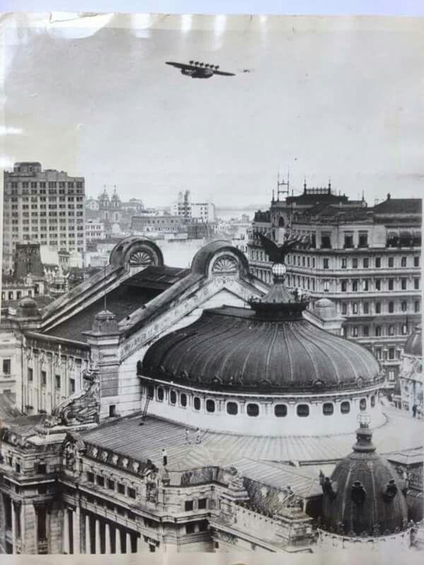 Teatro Municipal anos 30, Rio de Janeiro