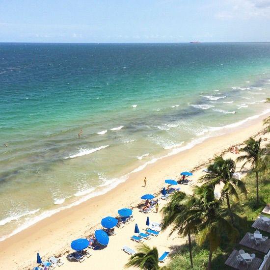 13 Outrageously Romantic Beach Getaways for Valentine's Day: Pelican Grand Beach Resort, Fort Lauderdale, Florida. Coastalliving.com