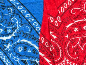 Les bandanas, rouges de préférence pour faire comme Renaud :)