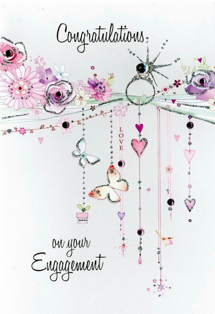 ♡☆ Congratulations on your Engagement! ☆♡ – Birthday & Anniversary
