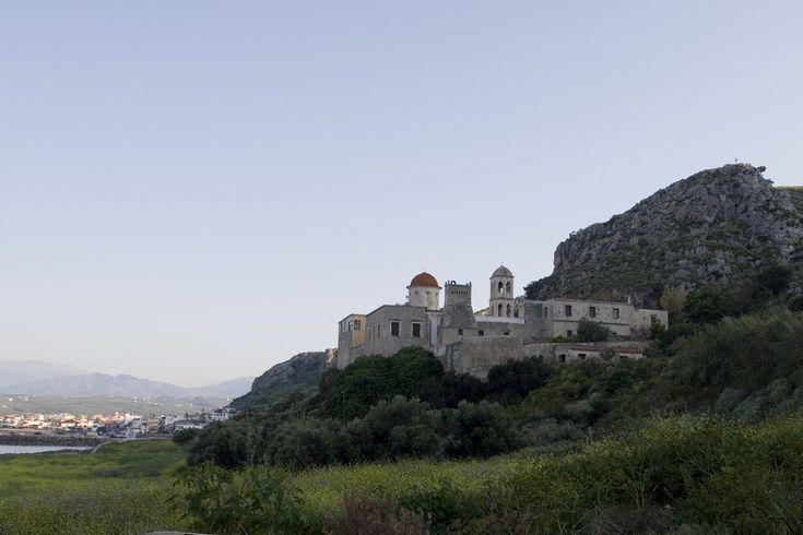 067 Μονή Οδηγήτριας (Γωνιας), The Monastery Hodegetria Gonias (Odigitrias) at Kisamos