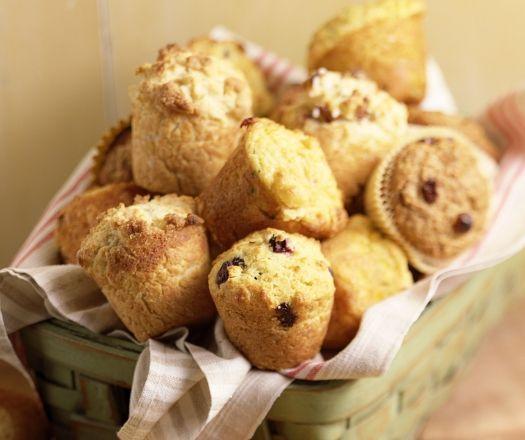 Aszalt vörös áfonyás muffin Recept képpel - Mindmegette.hu - Receptek