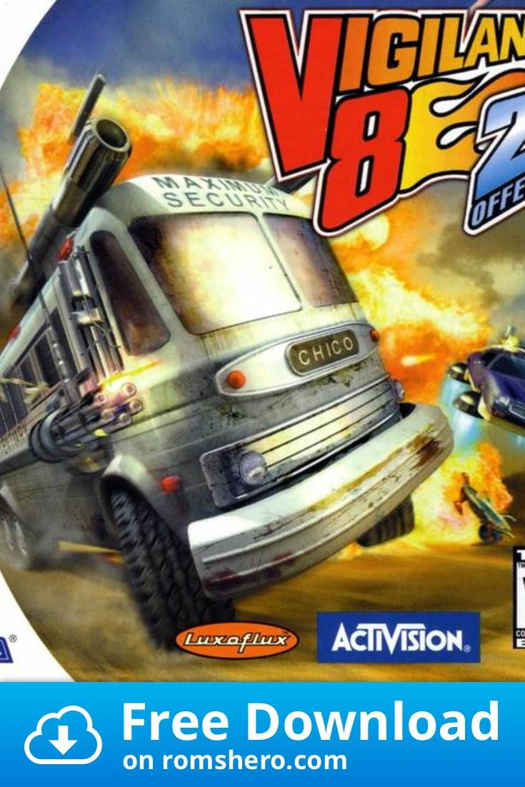 Download Vigilante 8 2nd Offense Sega Dreamcast Dc Isos Rom In