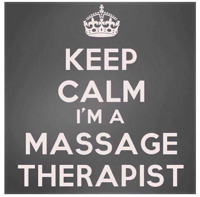 Keep Calm I'm a Massage Therapist!