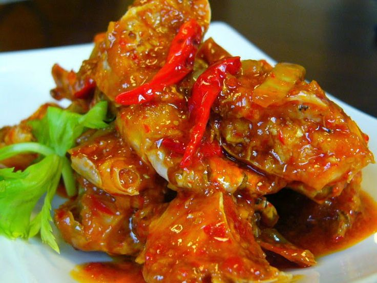 Resep Kepiting Saus Tiram Sea Food
