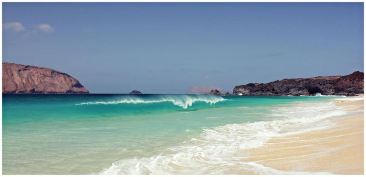 La Graciosa beach, Canary Islands - Spain