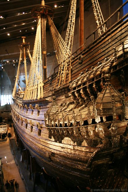 Vasa Museum, Stockholm. One of a kind. Still remember story of archeologist tasting 400 year old butter.