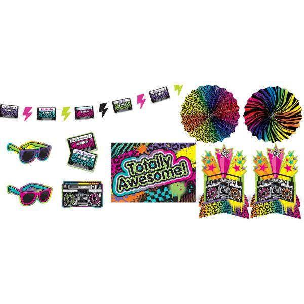 Totally 80s Decorating Kit 10pc