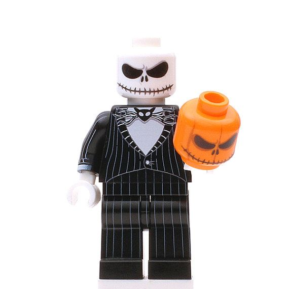 Pumpkin King Custom LEGO Minifigure by MinifiguresHQ on Etsy