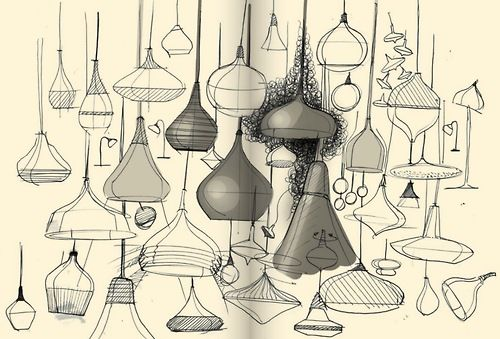 Lamp sketches
