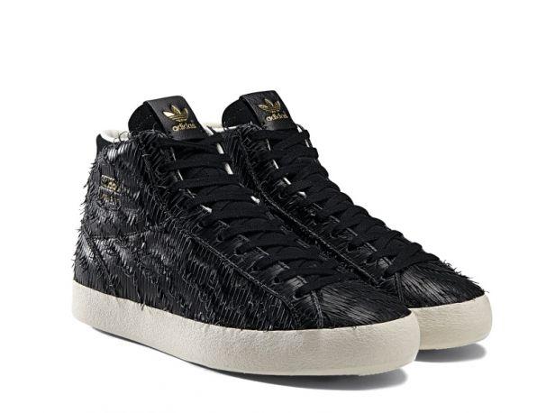Scarpe da tennis in pelle lavorata effetto piumaggio d'aquila, adidas  Originals