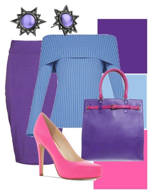 kleuren combineren by justbeautiful on Polyvore featuring mode, BCBGMAXAZRIA, Boohoo, Jessica Simpson, CÉLINE and Rebecca Minkoff