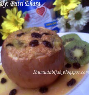 Fruity Oatmeal Baked Apple