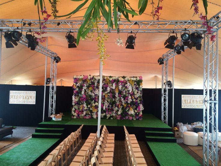 Jaguar Land Rover Fashion Show at Melrose arch #jlrsa #ccpp #creatingexperience #fashionramp #fashionshow