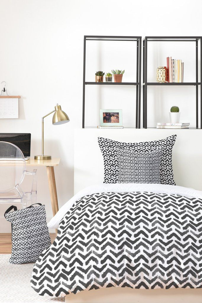 Sketchy Chevron Bed-in-a-Bag by Wonder Forest