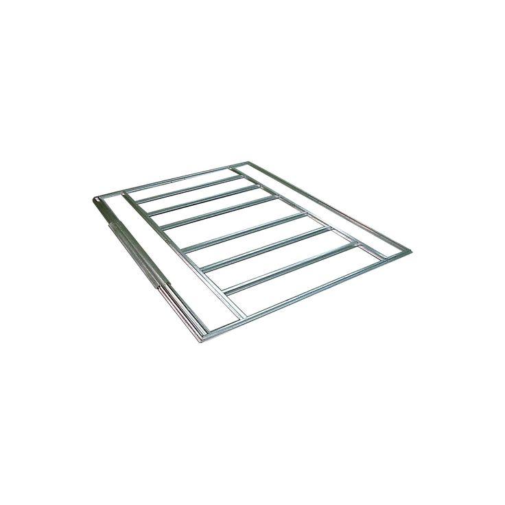 Floor Frame Kit For Arrow 8X8, 10X7, 10X8, 10X9, And 10X10 Sheds - Arrow Storage Products, Grey
