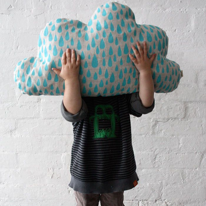 Image of TOTEM COLLECTION CLOUD SHAPED CUSHION