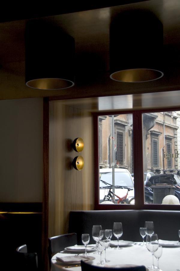 Pier Luigi restaurant, Rome Lighting by PSLAB