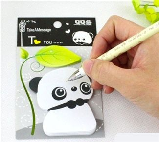 Can't get enough of these Panda sticky notes-so cute!