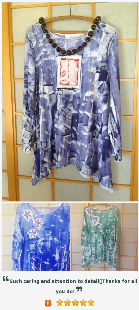 Handmade Hawaiian - Tunic Legging Set - Plus Size Top - Hawaiian Handmade - Cotton Tunic - Woman Tunic Top - Hand Painted T Shirt - Kauai https://www.etsy.com/listing/153791902/