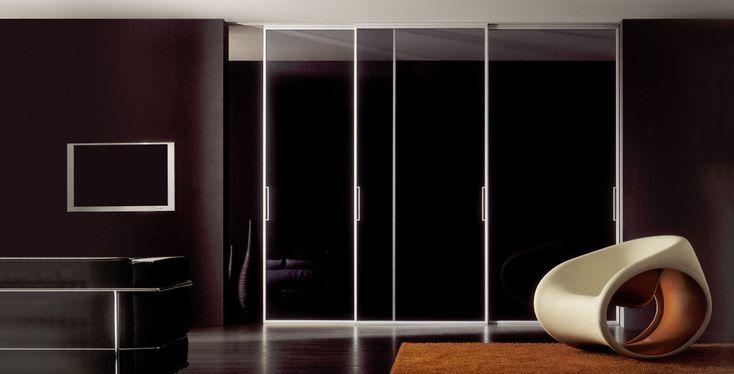 porta scorrevole in alluminio LUNA by  Res Italia