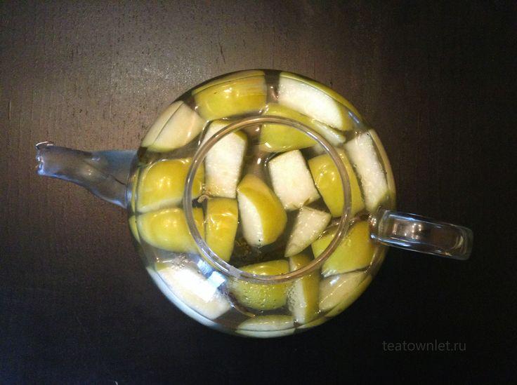 Жасминовый чай с яблочным сидром имеет приятное послевкусие. #Чай #ЧайныйГородок #Жасмин #Яблоко