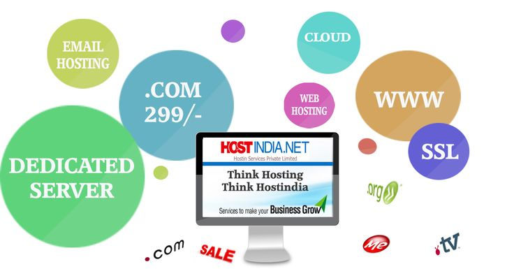 Complete your all online requirement with hostindia.net.  Find your dream #domain, web #hosting, #Dedicated server, #email hosting and many more.