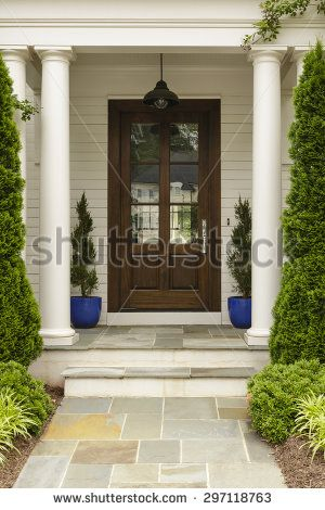 stone front door steps - Google Search
