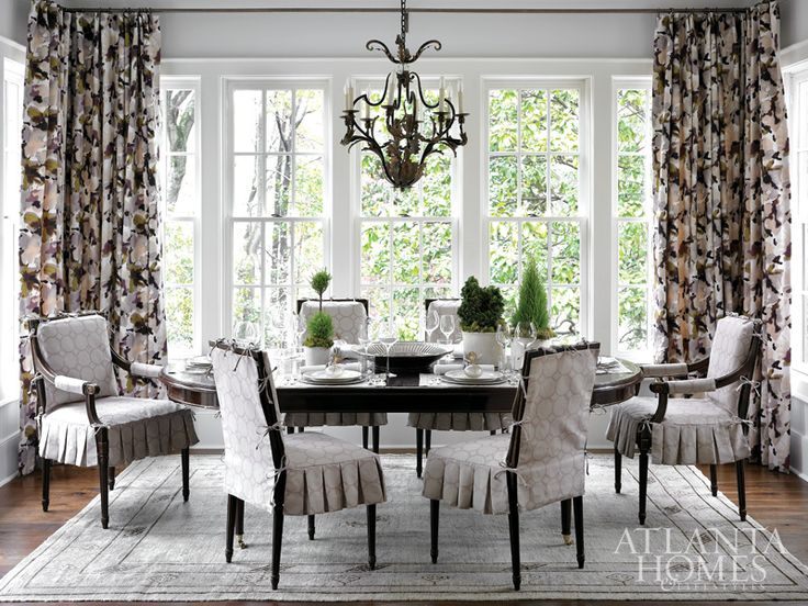 Delight In Design | Atlanta Homes U0026 Lifestyles · Lights BackgroundDining  Room ChairsDining RoomsDining TableFine ...
