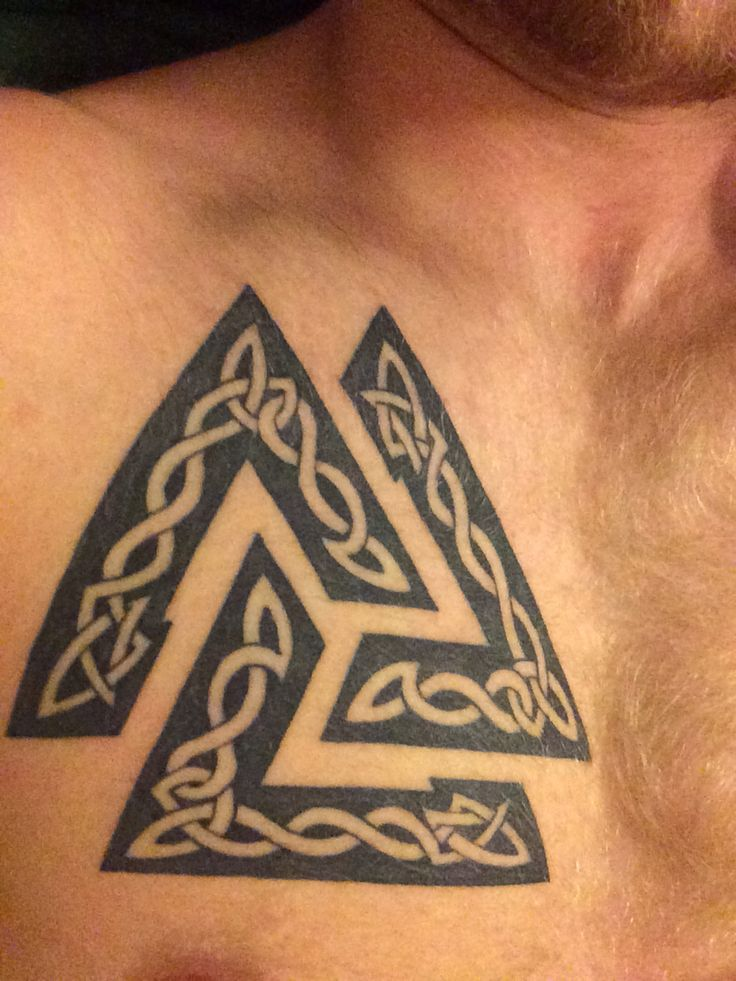 96 best images about tattoo ideas on pinterest for Valknut symbol tattoo