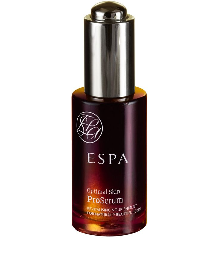 Espa Optimal Skin Proserum - put on face before moisturizer - helps protect against ageing, makes skin radiant, natural ingregients - use in morning routine - niomi smart uses