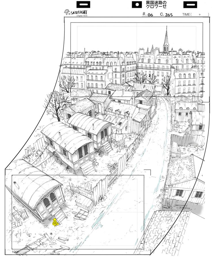 """Neto's Blog - yannlegall: Some layout work for """"Croisée in a..."""