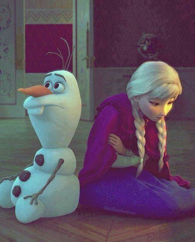 """Some people are worth melting for.""-Olaf from the movie, ""Frozen""."