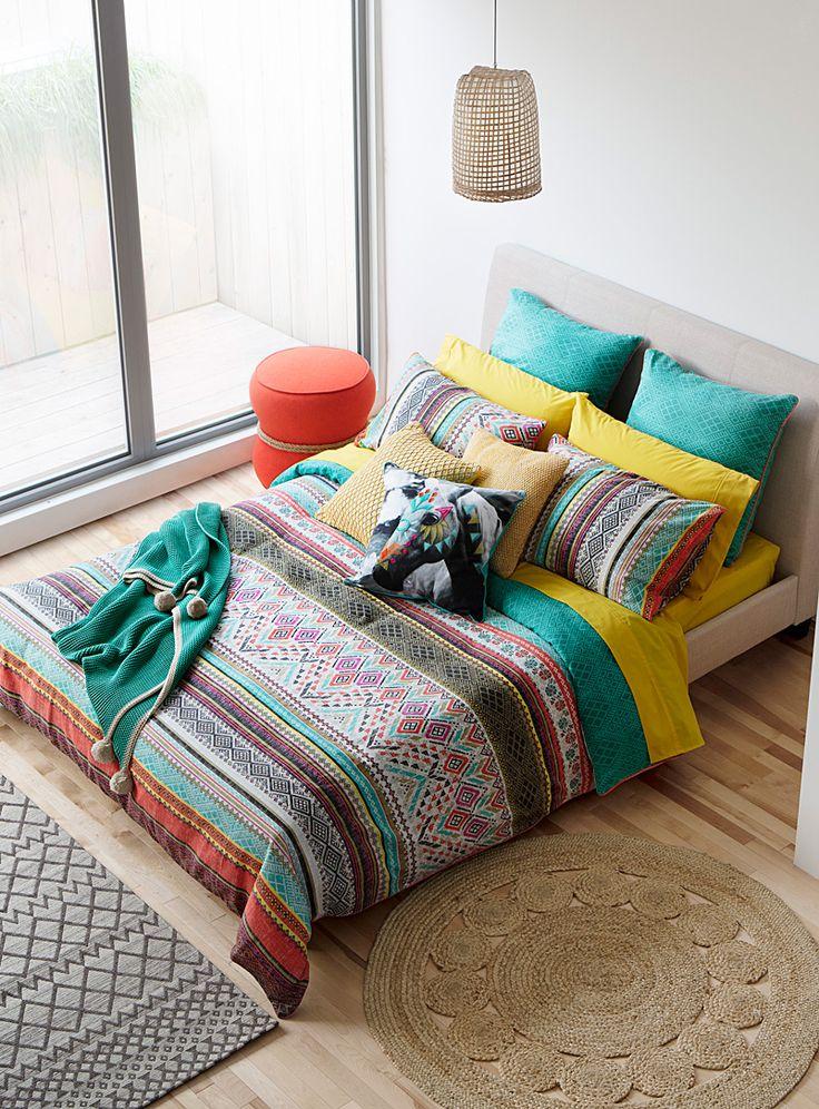 1000 idees sur le theme chambre azteque sur pinterest for Chambre design avec housse de couette 135x200