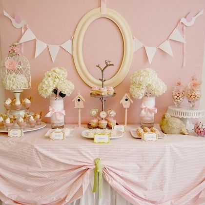 50 besten rosa party ideen bilder auf pinterest candy - Baby shower party ideen ...